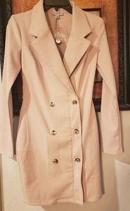 Pink blush colored coat